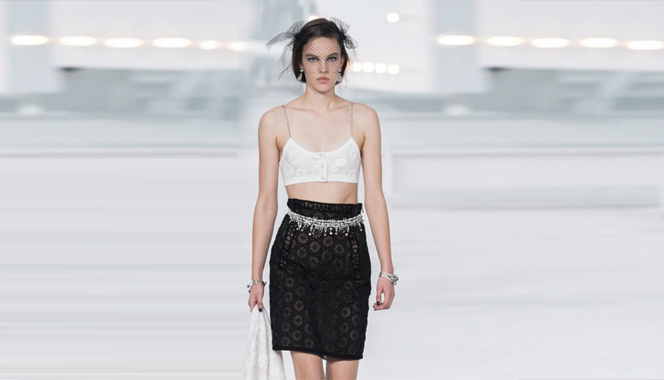 chanel PE 21 - Parigi chiude queste strane Fashion Week