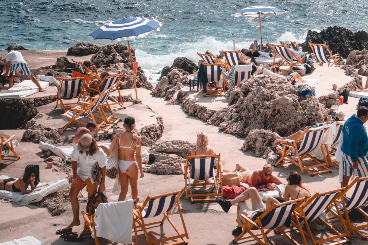 capri spiaggia - Il fascino delle vacanze italiane