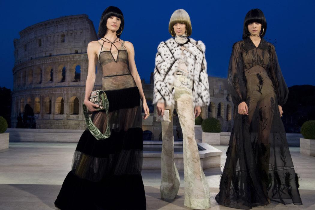 fendi - Le sfilate della Paris Haute Couture F/W 2019