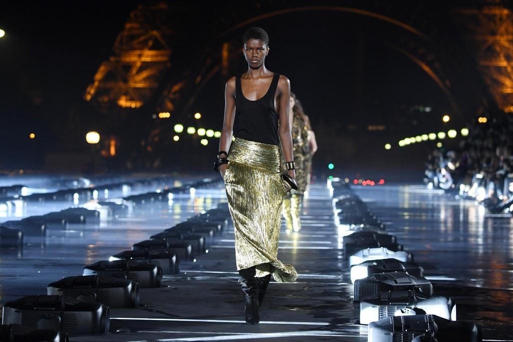 ysl - La magia della Paris Fashion Week - prima parte