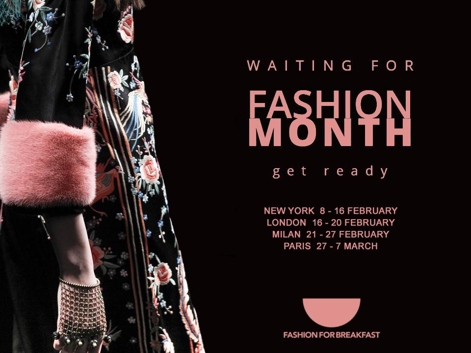 FASHION MONTH FFB - Mese della moda in arrivo!