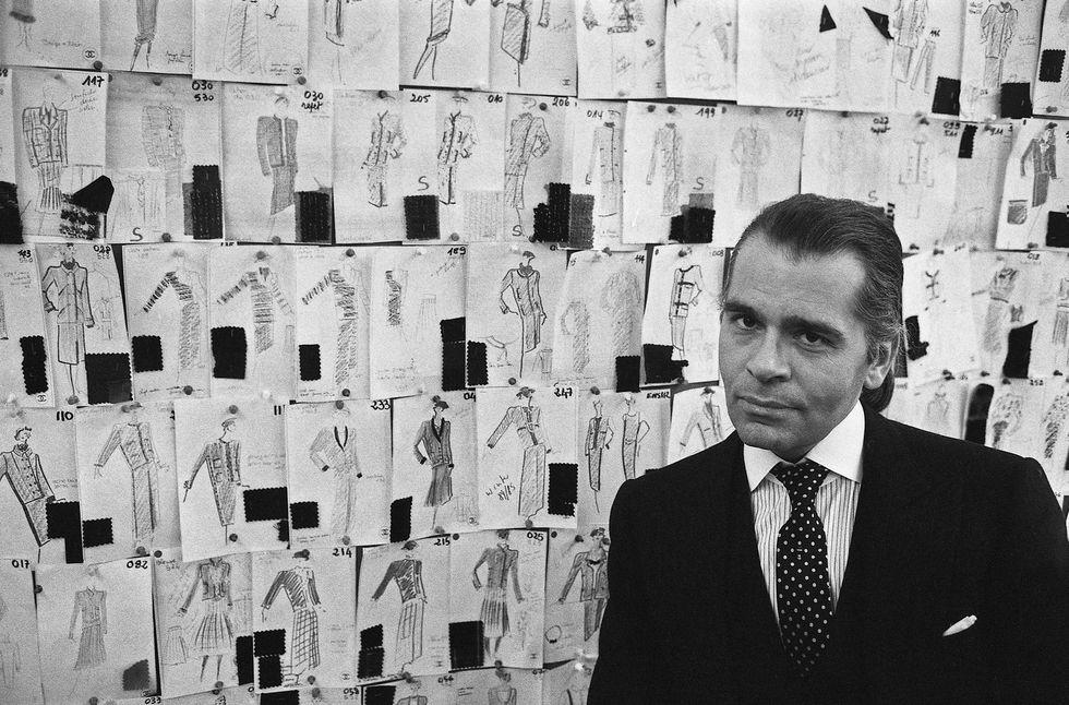 """karl lagerfeld foto14 1550579942 - """"Il vero lusso? L'intelligenza"""" - ricordando Karl Lagerfeld"""