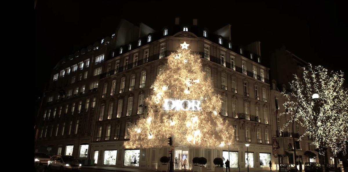 dior - Vetrine natalizie: una finestra sui sogni