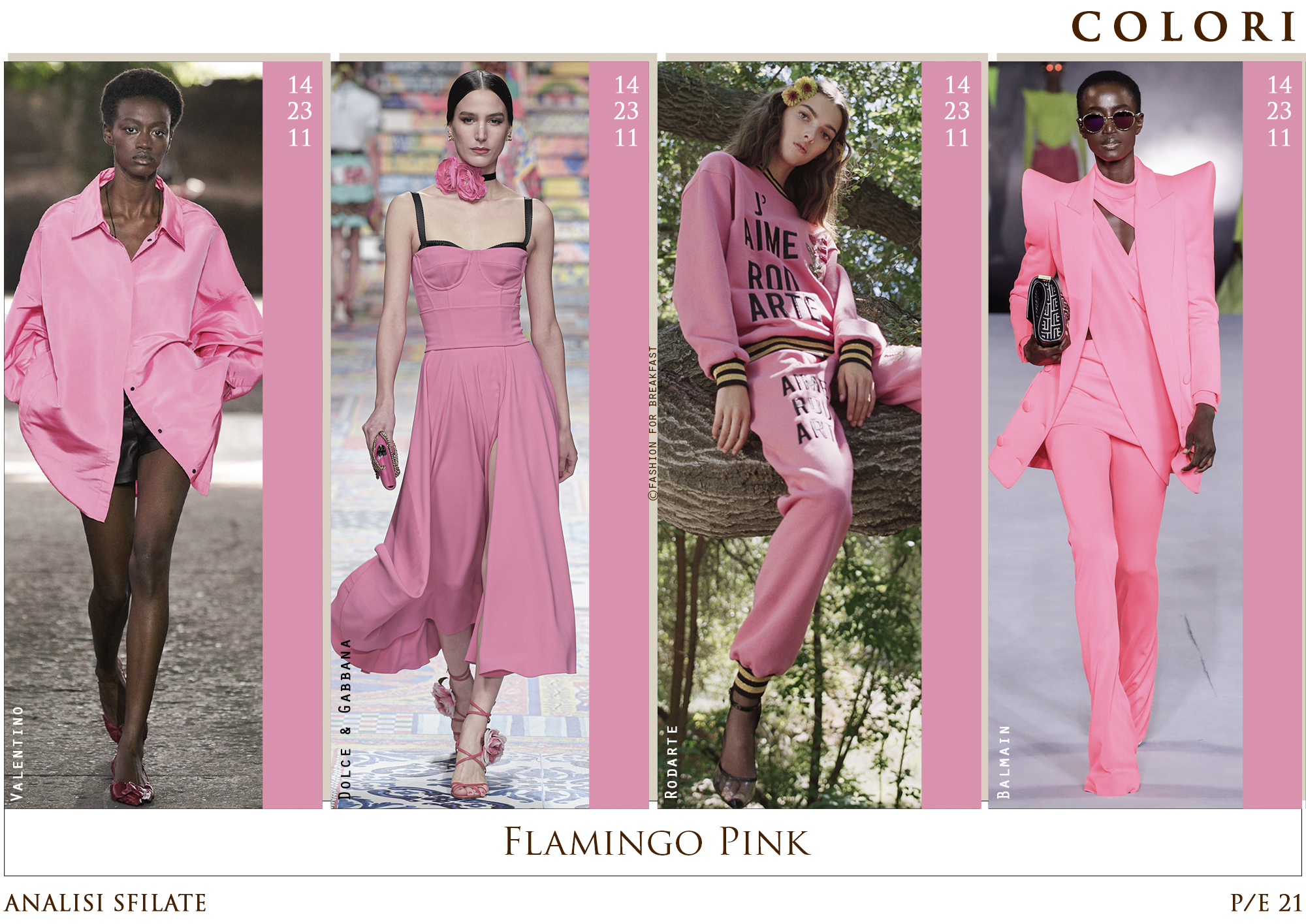 FLAMINGO PINK - Parigi chiude queste strane Fashion Week