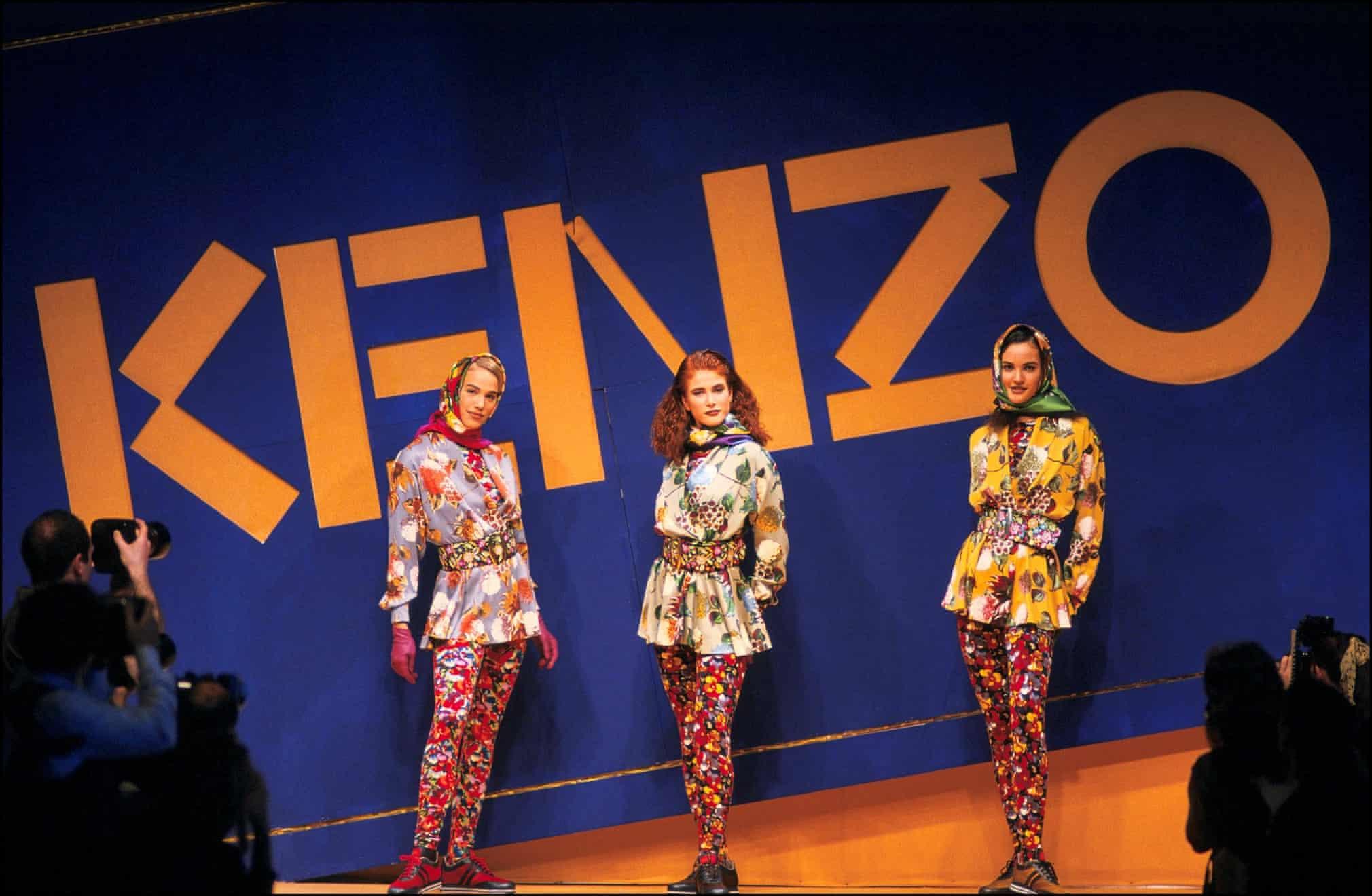 kenzo runway - Gli abiti felici di Kenzō