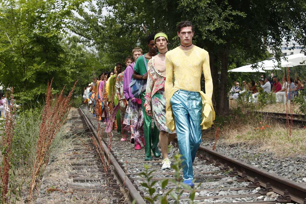 etro - Milano Fashion Week: l'uomo che cambia