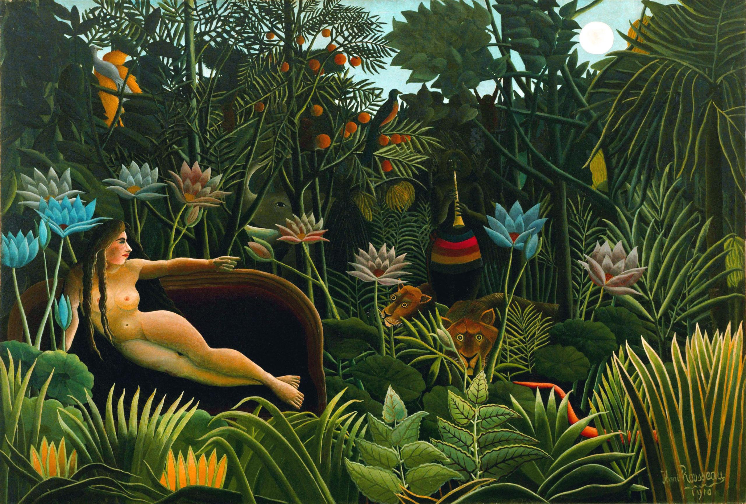 il sogno Rousseau scaled - Gli abiti felici di Kenzō