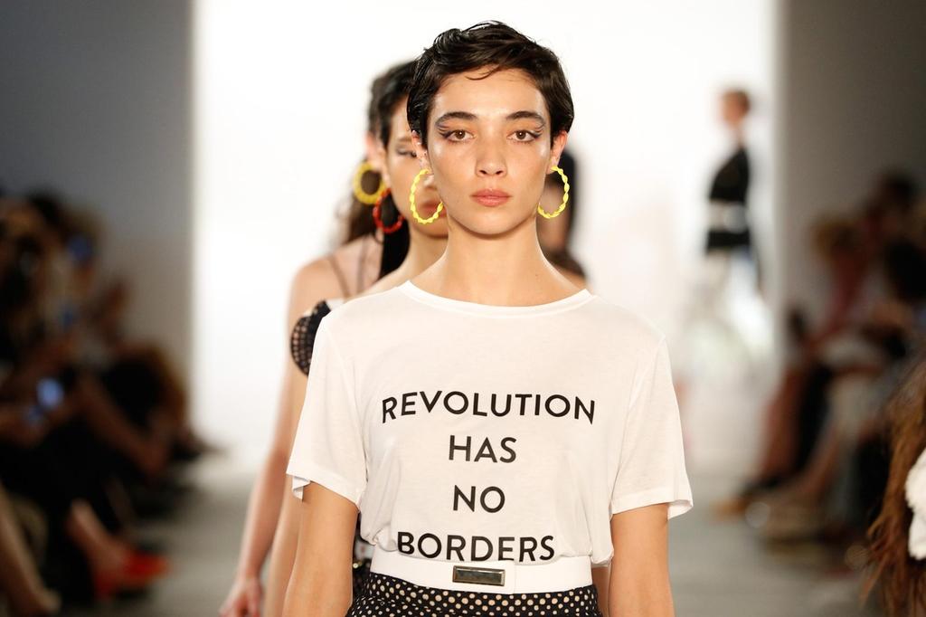 Prabal Gurung fashion show - Le rivoluzioni degli Anni 10