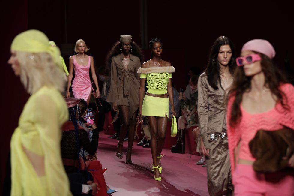 blumarine - Gli highlights della Milano Fashion Week P/E 22