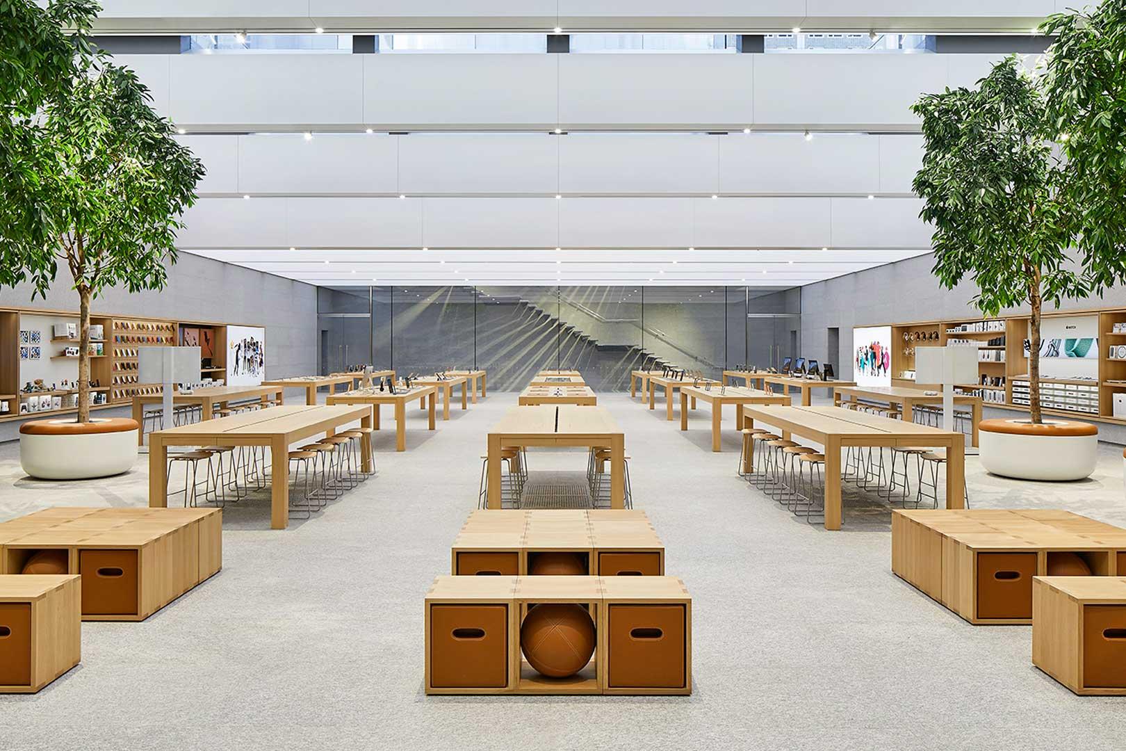 apple store - Uno sguardo ai negozi del futuro