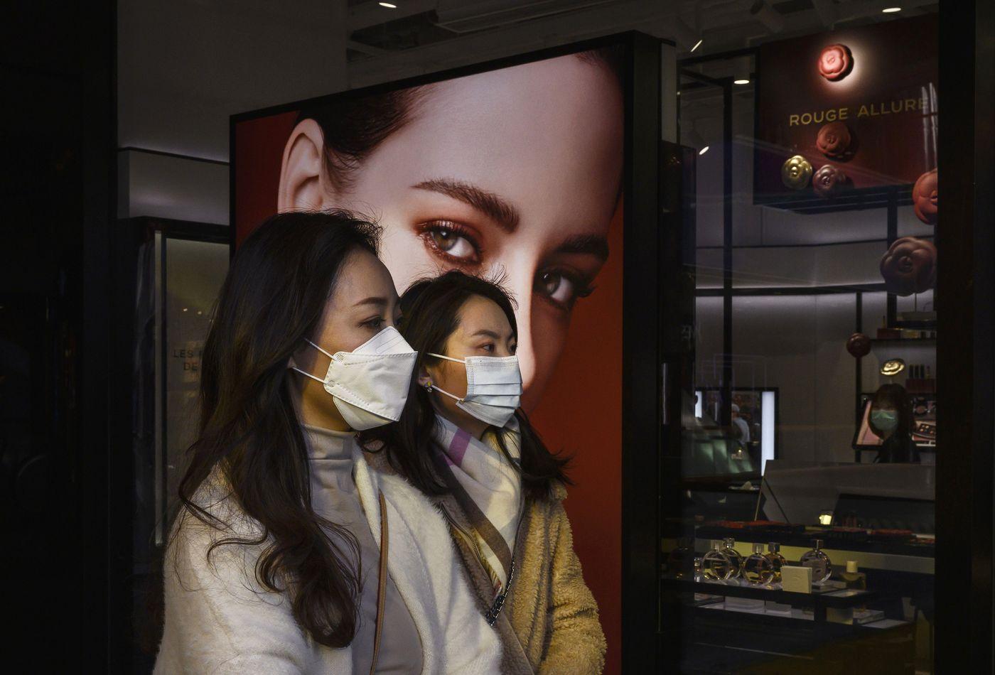 cina negozio coronavirus - Un consumatore nuovo di zecca