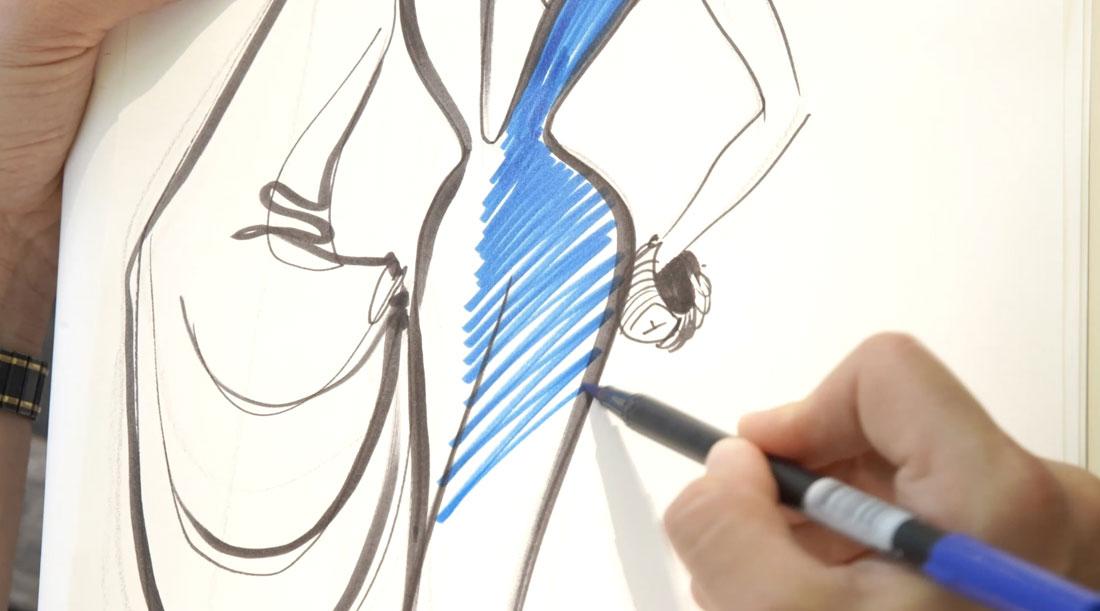 Schiaparelli bozzetto - La digital Haute Couture è il futuro?
