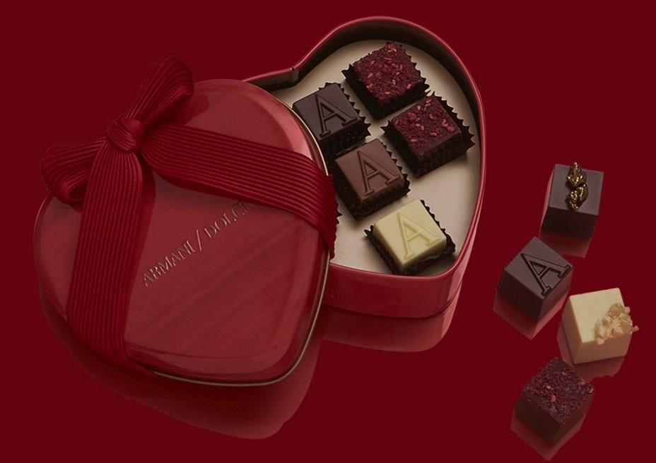 armani dolci - San Valentino porta il tuo nome