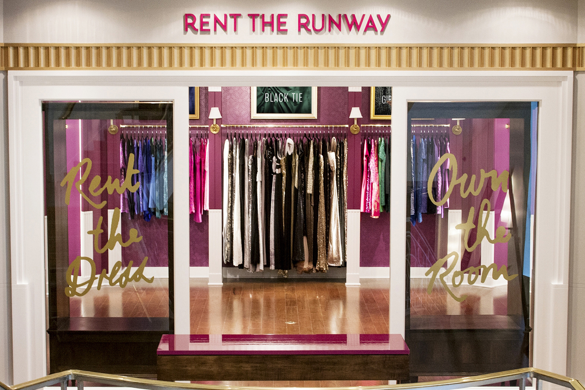 rent the runway shot - Rental fashion