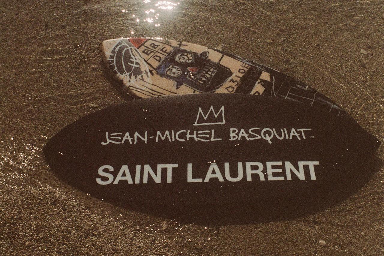 saint laurent basquiat - Basquiat e Haring: gli artisti prediletti del fashion system