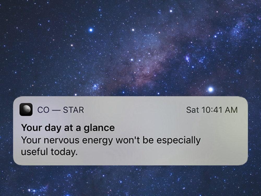 co star notification - Voglia di uscire a riveder le stelle: l'astrologia è di moda