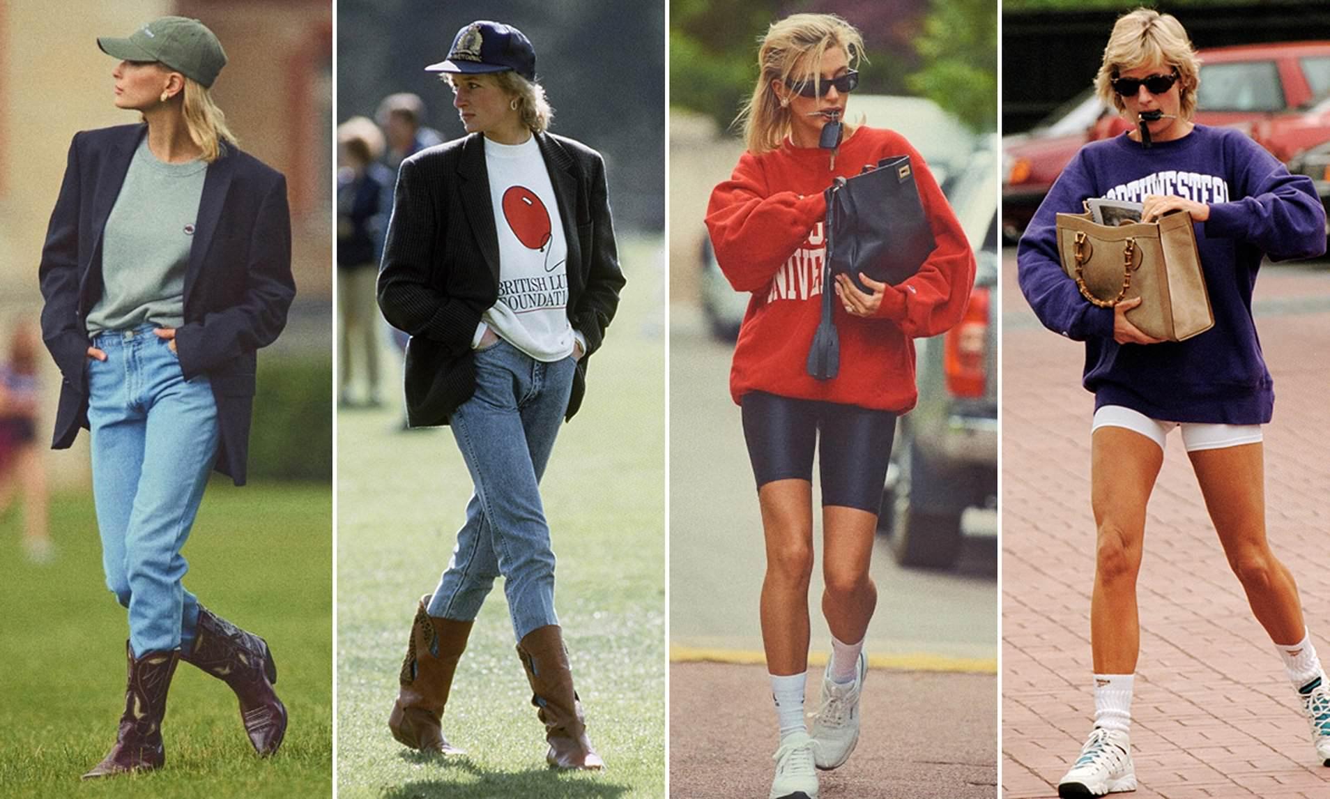 haley bieber lady diana - Lady Diana: lo stile immortale