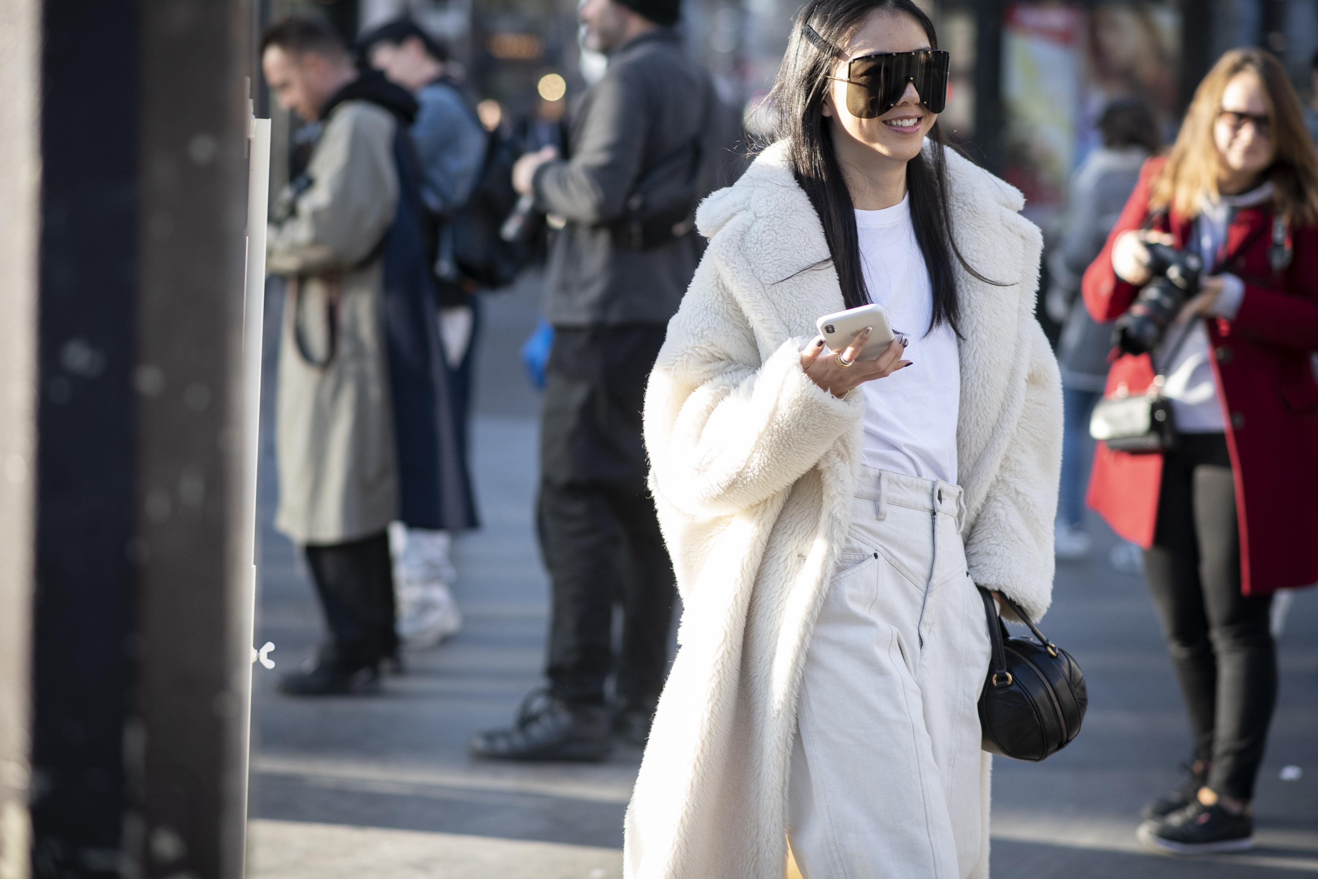 TEDDY COAT - Street style e fashion week: un binomio perfetto