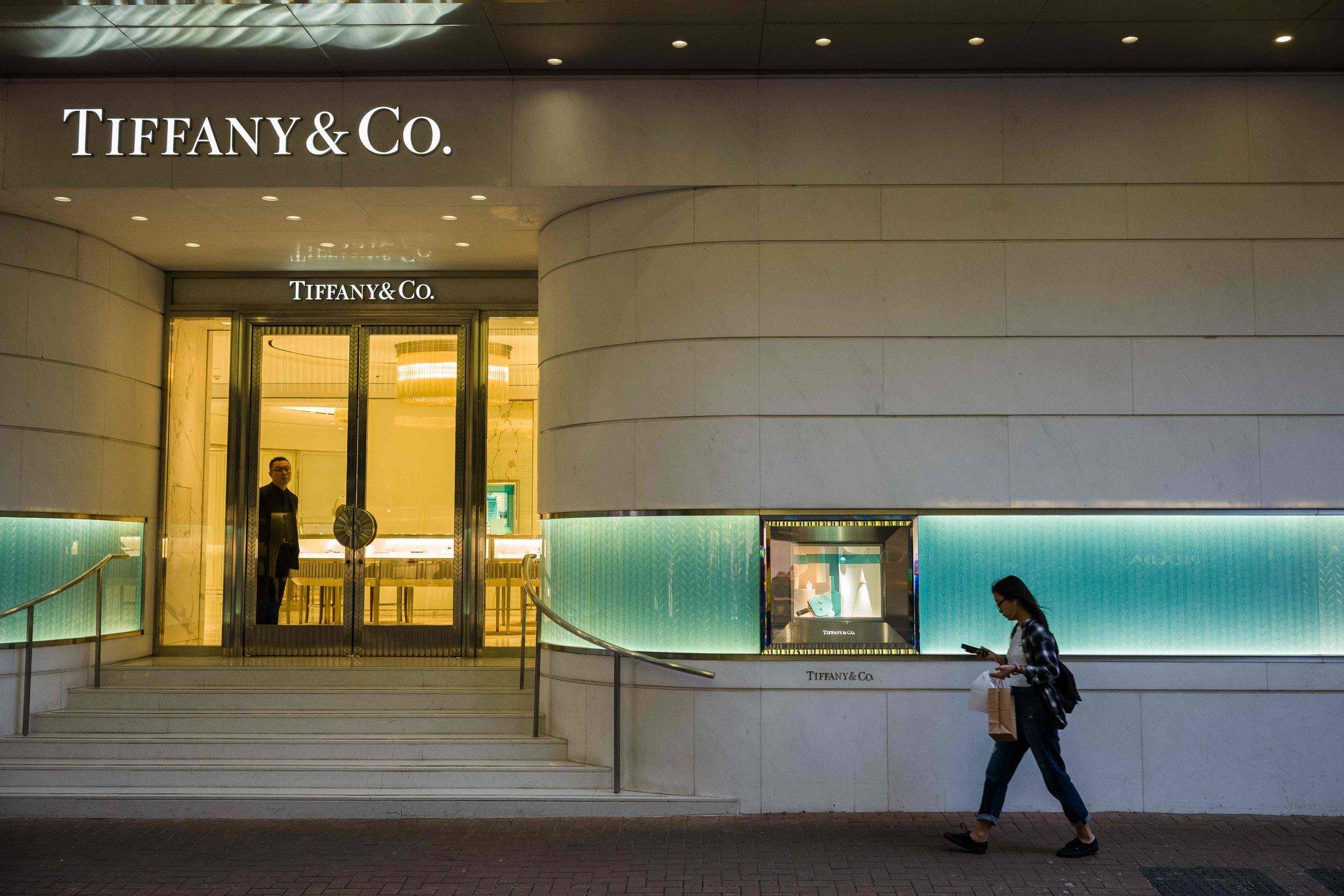 sede Tiffany Cina - Lo shopping dei gruppi del lusso