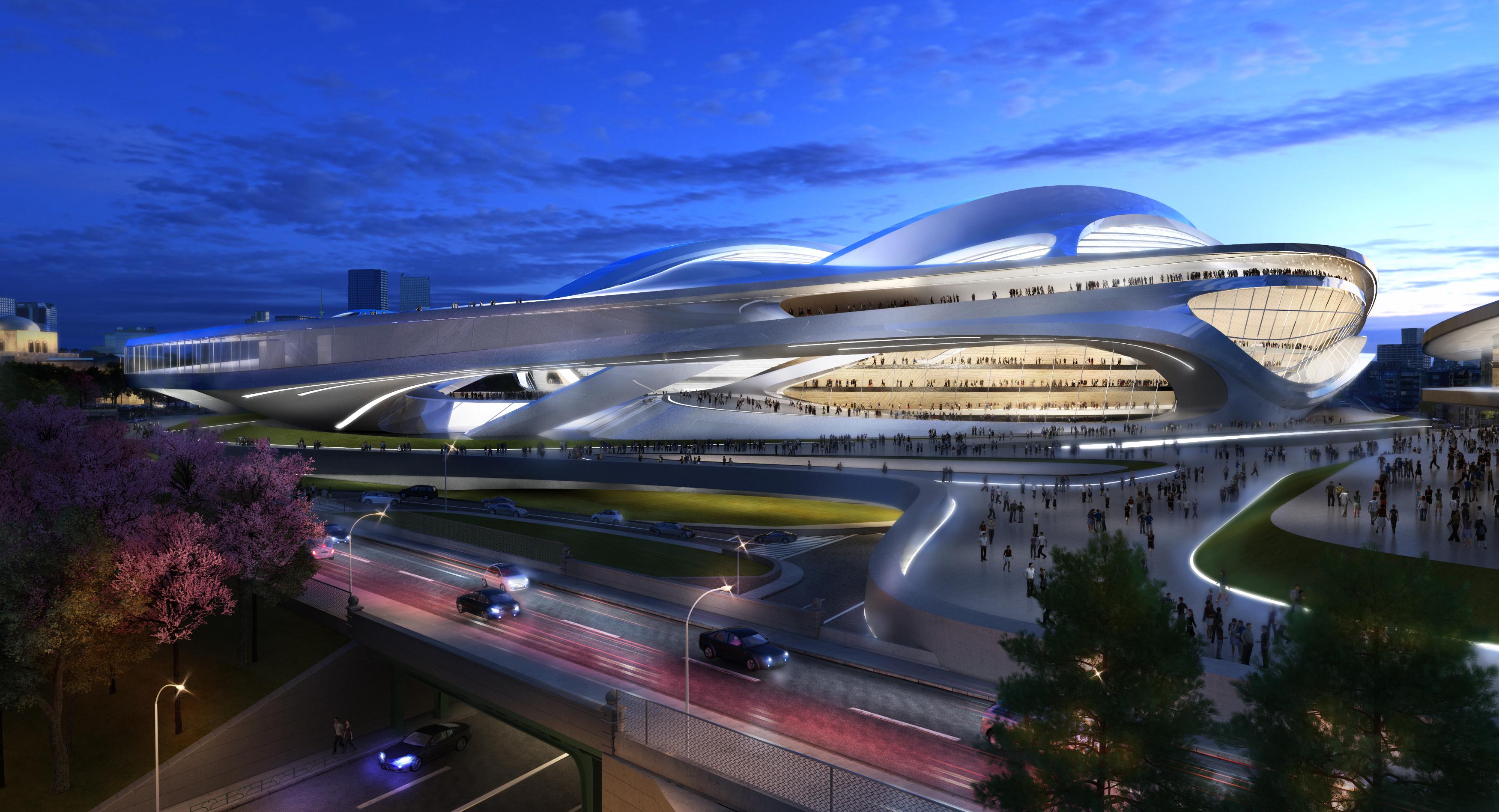 stadio tokyo 2020 2 - P/E 2020 : L'armonia ritrovata tra natura e tecnologia